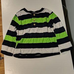 **3/7.00* Toddler long sleeve shirt